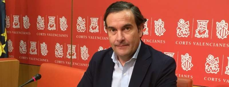 El Portavoz de Turismo del Grupo Popular en Les Corts, Fernando Pastor.