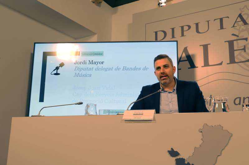 Jordi Mayor, Diputado delegado de Bandas de Música