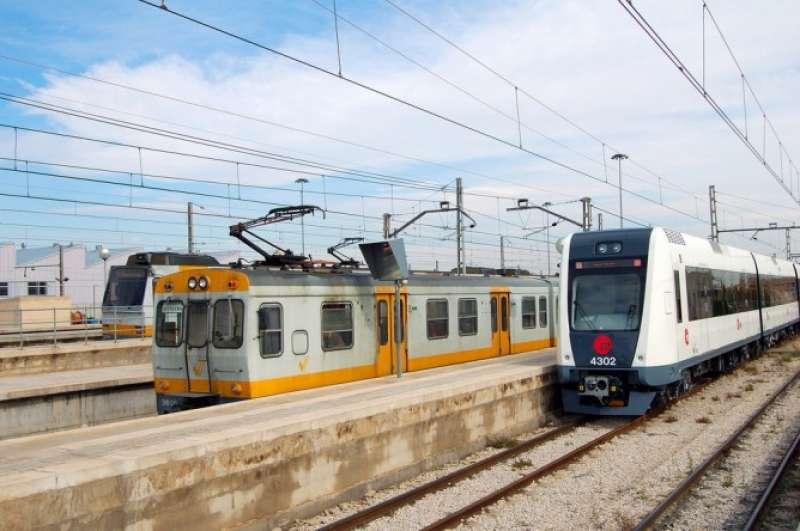 Trens de Ferrocarrils. FOTO DV