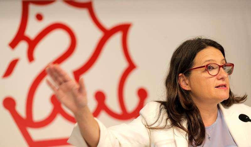 La vicepresidenta del Consell y líder de Compromís, Mónica Oltra. EE/Archivo