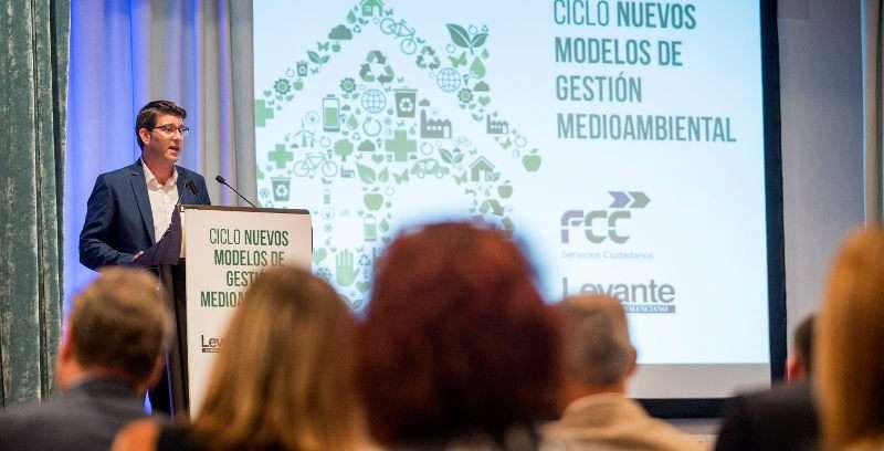 Rodríguez en la clausura de la jornada sobre la gestión del medio ambiente