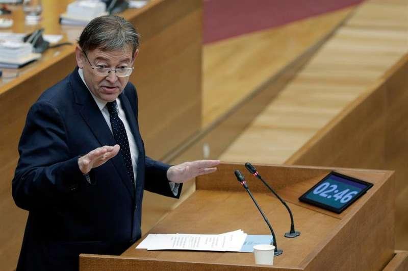 El president de la Generalitat, Ximo Puig, en una imagen reciente. -EFE/Kai Försterling