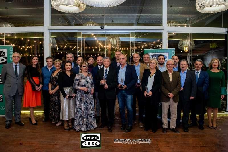 Foto de los premiados en la anterior edición.