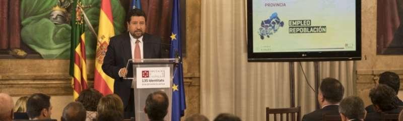 El presidente de la Diputación de Castellón, Javier Moliner.