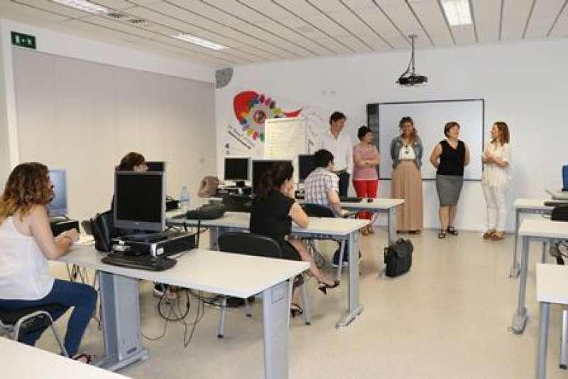 Aula de formación en Torrent. EPDA