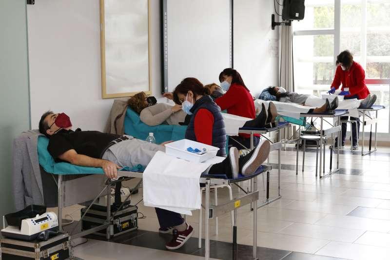 Donación de sangre. EPDA