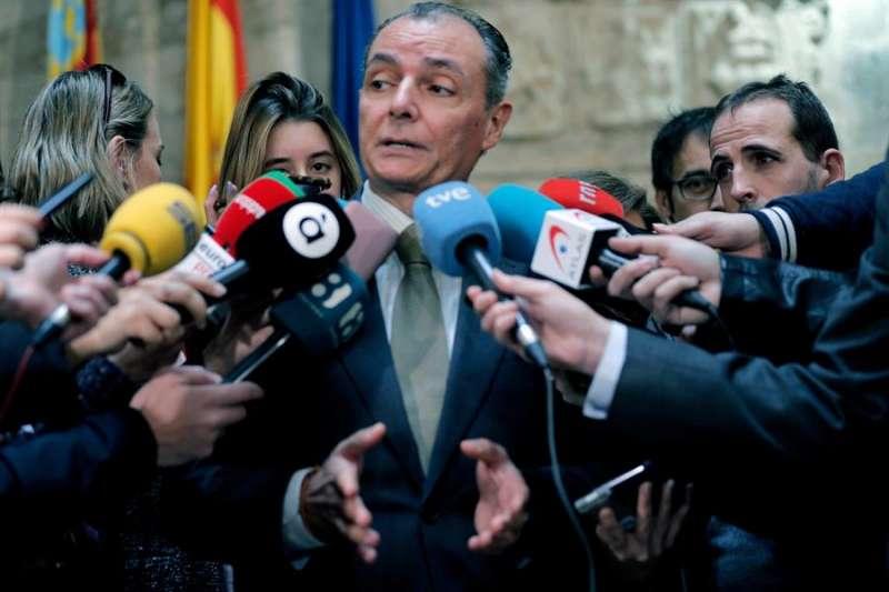 El presidente de la patronal autonómica (CEV), Salvador Navarro. EFE