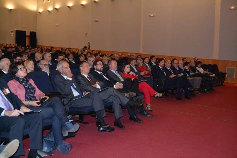 Asistentes al Encuentro Empresarial en Canet. EPDA