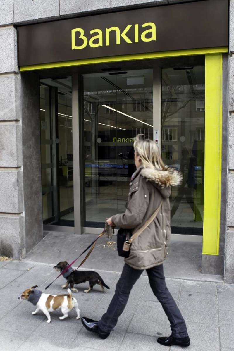 Sucursal de Bankia: EFE/Archivo