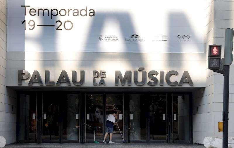 El Palau de la Música de València. EFE/Juan Carlos Cárdenas/Archivo