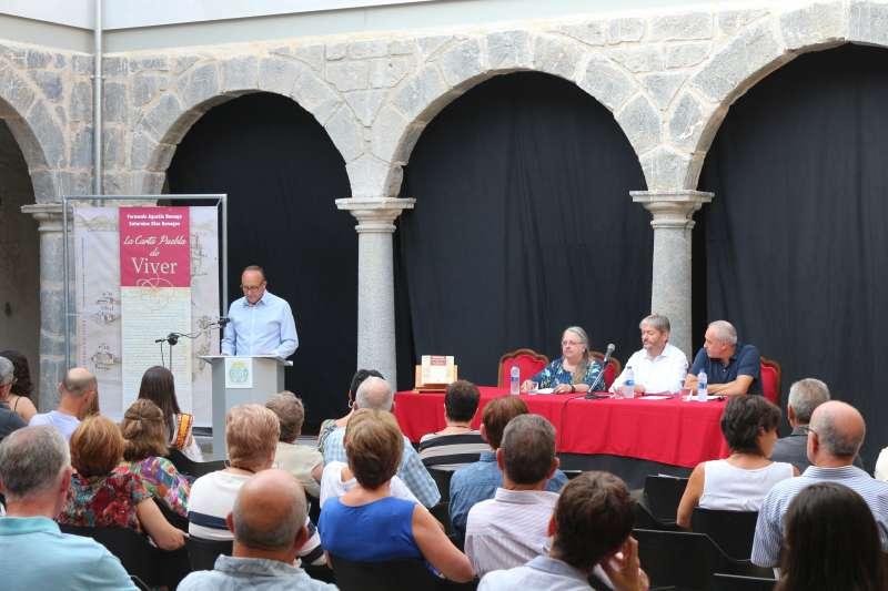 El claustro del convento acogió la presentación