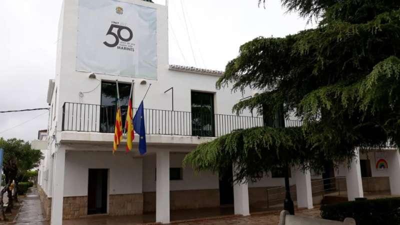 Ayuntamiento de Marines. / EPDA