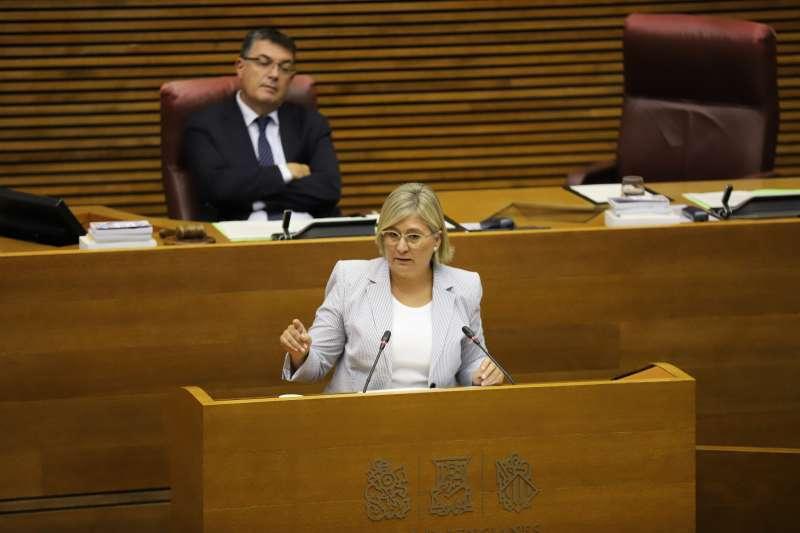 Mamen Peris, portavoz de Ciudadanos en las Cortes Valencianas