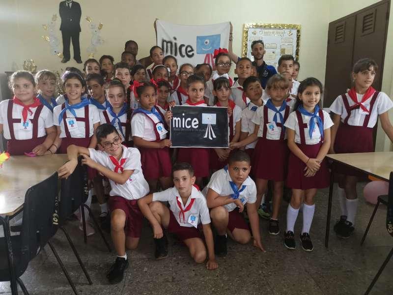 Xiquets participants del projecte educatiu i cultural MICE a l?Havana./ EPDA