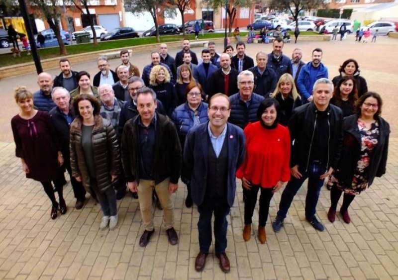 Componentes del comité electoral provincial del PSPV-PSOE