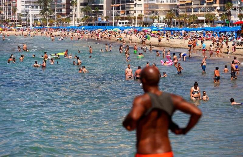 Imagen de archivo de una playa de la Comunitat Valenciana. EPDA