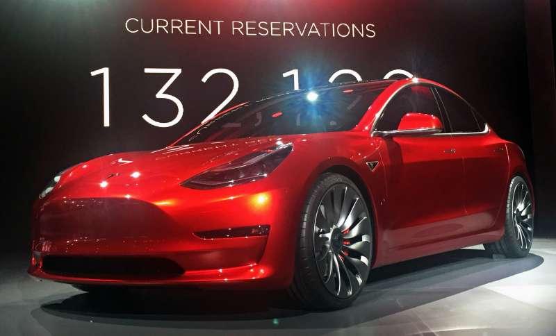 Vehículo de Tesla.
