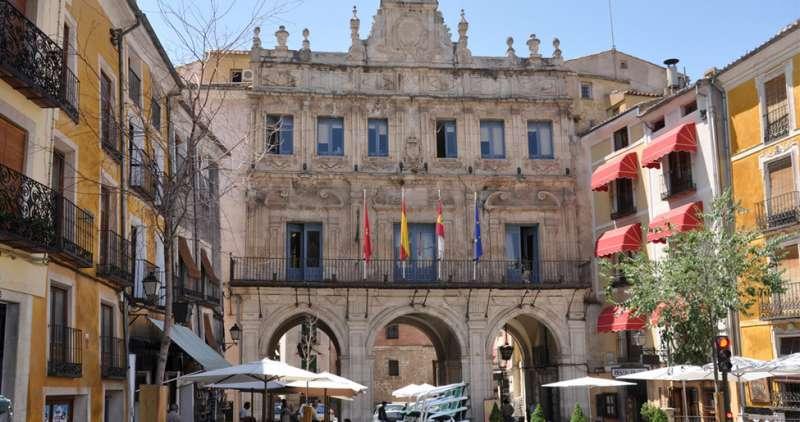 El Ayuntamiento de Cuenca. TURISMODECASTILLALAMANCHA.COM