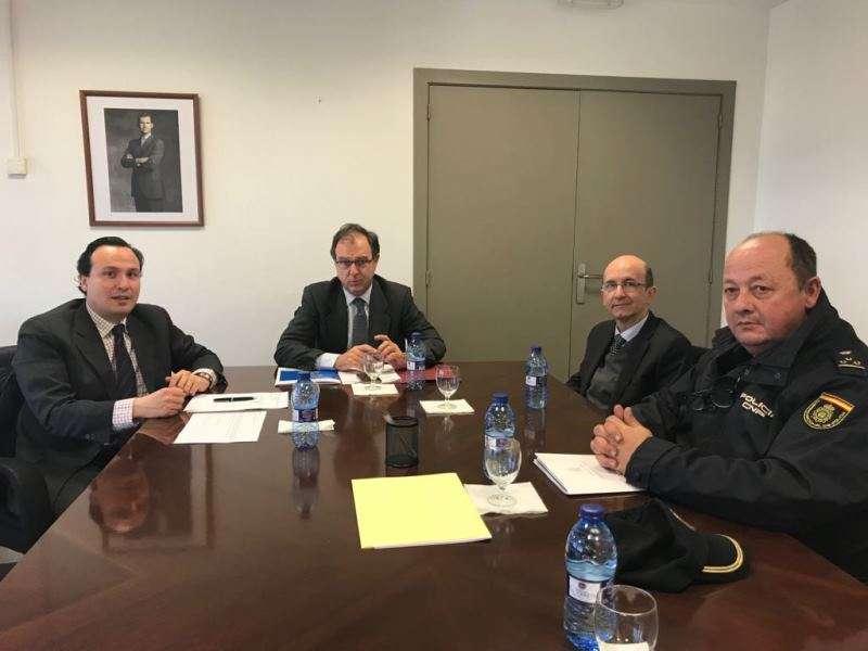 Reunión con el Subdelegado del Gobierno. EPDA