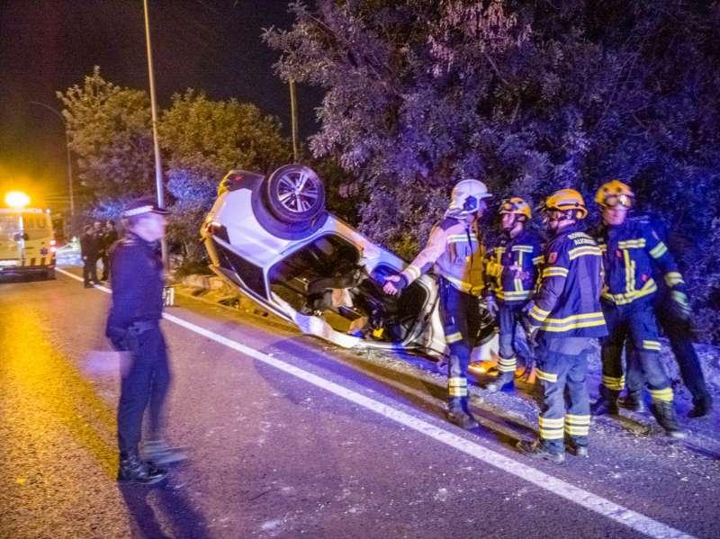 Accidente en Alicante. EPDA