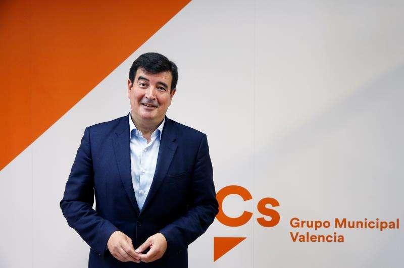 El portavoz de Ciudadanos en el Ayuntamiento de València, Fernando Giner. EFE/Archivo