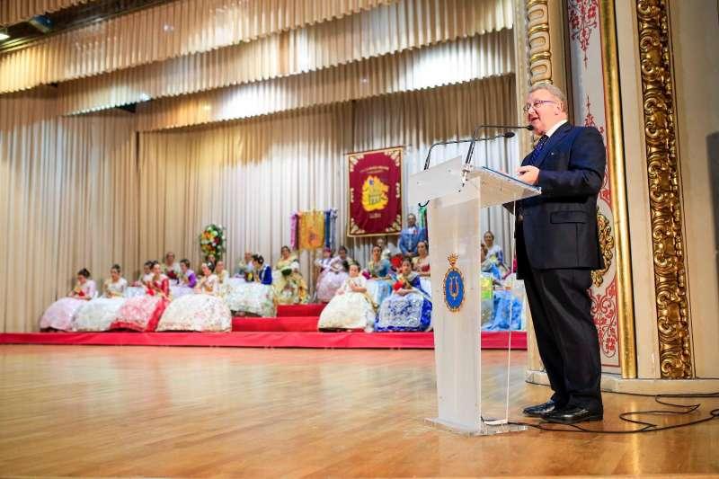 Momento del evento presentado por José Salvador Murgui. / Sergio Sánchez
