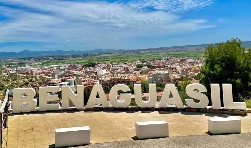 Vista de Benaguasil. EPDA.