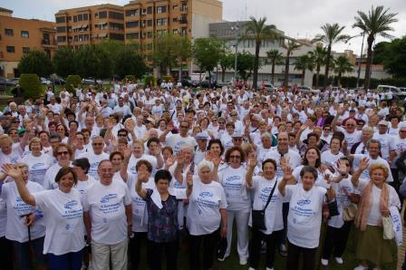 Participantes en la Caminata de Xirivella. Foto: EDPA.