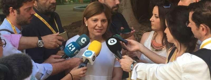 La síndica del Grupo Popular de la Comunitat Valenciana (PPCV), Isabel Bonig