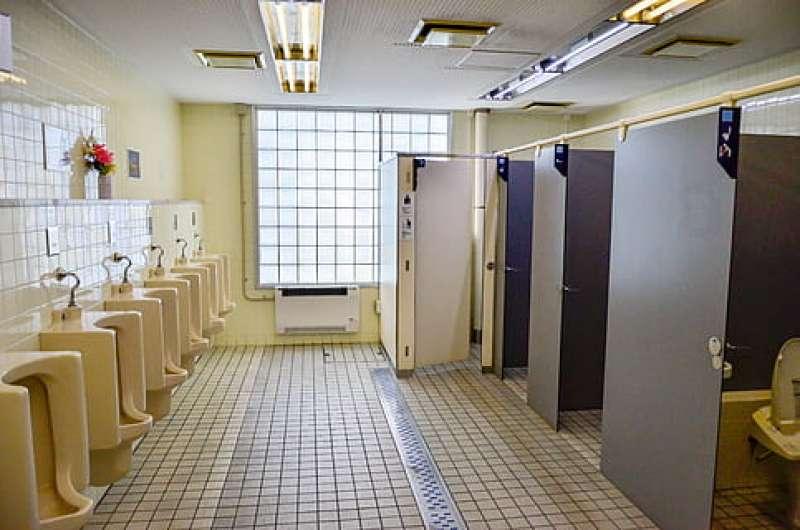 Baños públicos. EPDA