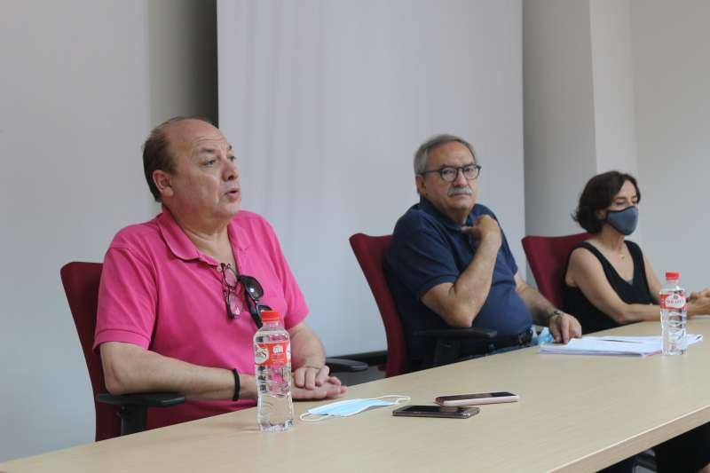 Taján, Rico y Barrios, en el jurado
