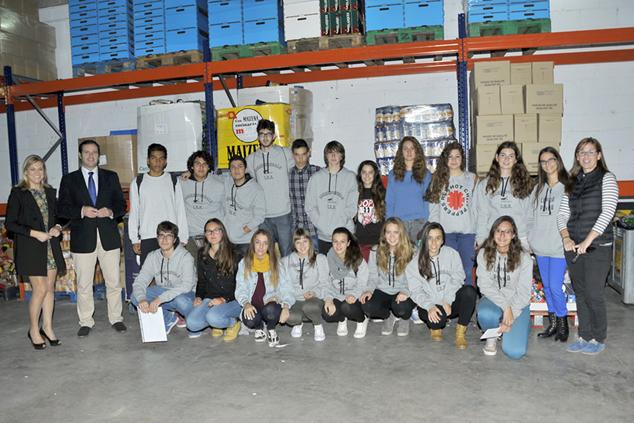 El grupo de corresponsales de los institutos de secundaria - Casal jove puerto sagunto ...