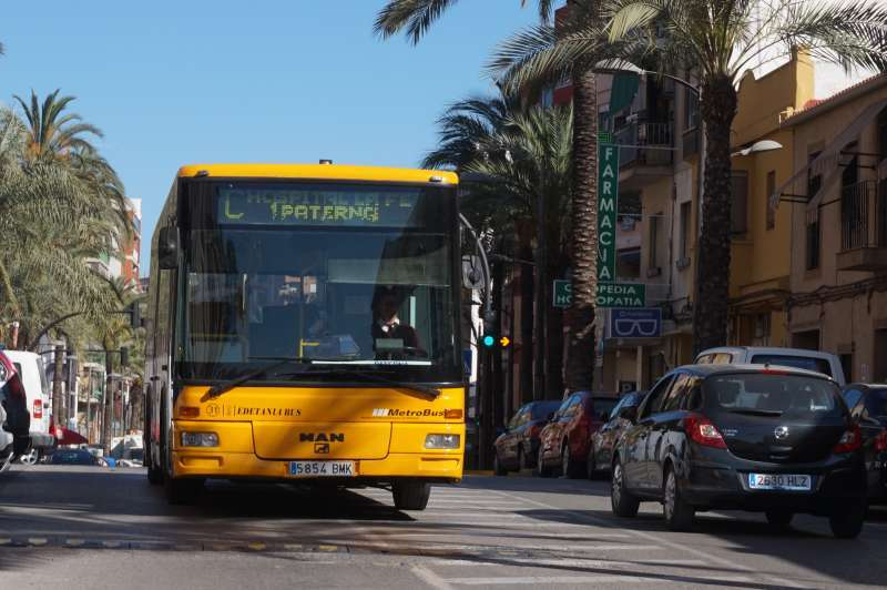Autobús de línea. EPDA.