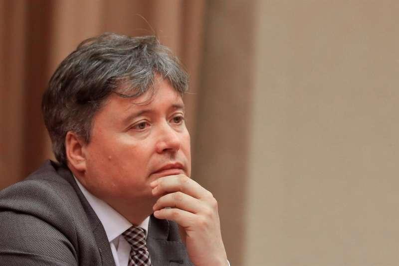 Imagen de archivo del diputado del PP Luis Santamaría, que va a presidir comité organizador del XV Congreso autonómico del PPCV, que se celebra el próximo 3 de julio.