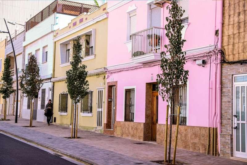 Calle Jacinto Benavente. EPDA