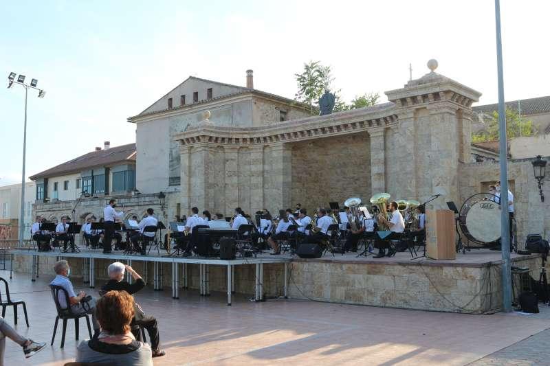 Concierto de la Sociedad Musical de Segorbe en pandemia