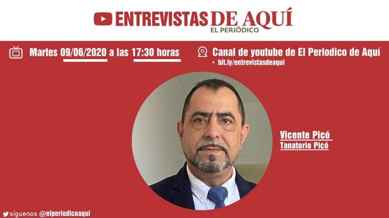 Vicente Picó, gerente del Tanatorio Picó. EPDA