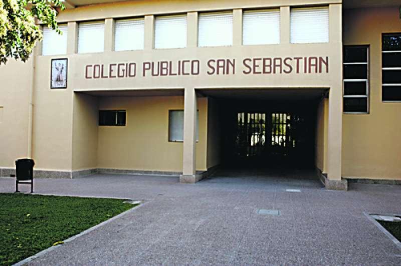 Colegio Público San Sebastián de Rocafort donde se harán inversiones. EPDA