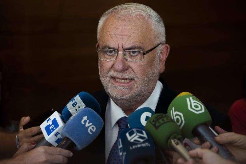 El exvicepresidente del Gobierno valenciano, expresidente de Les Corts y ex director general de la Policía, Juan Cotino. EFE/Archivo