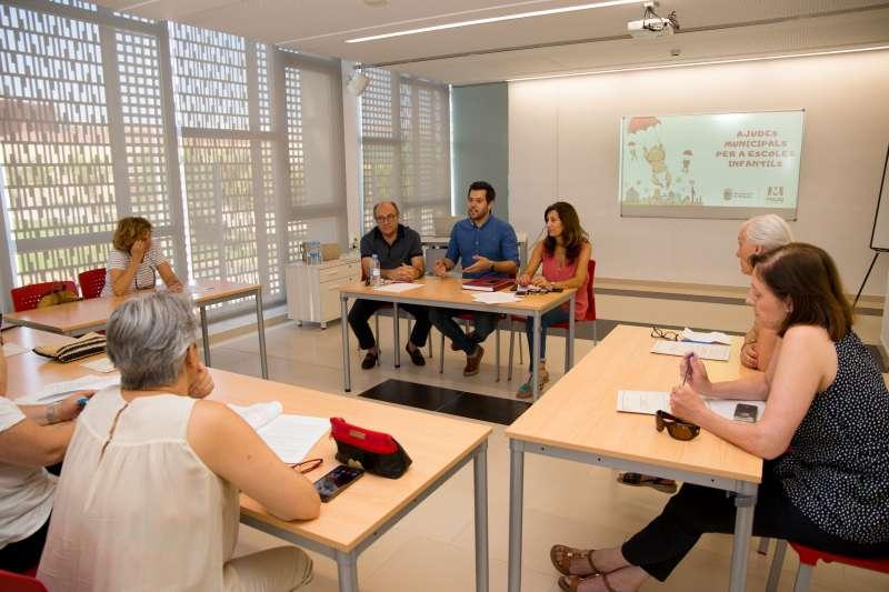 Moreno presenta el programa en Mislata. EPDA