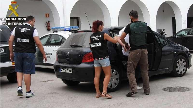 Momento de la detención