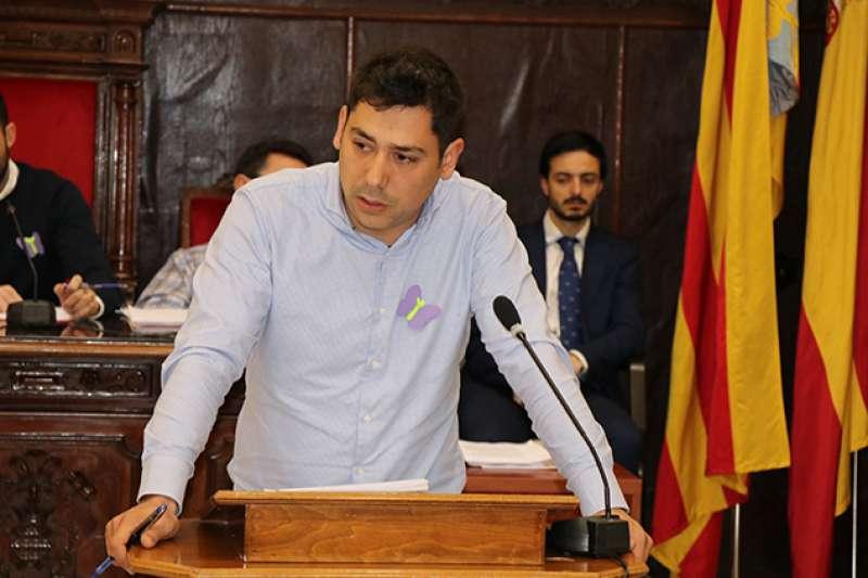 El concejal Roberto Rovira. EPDA