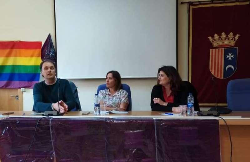 Acto de presentación de la candidatura de Podemos en Riba-Roja./epda