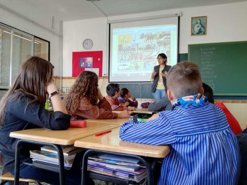 Sensibilización en las aulas