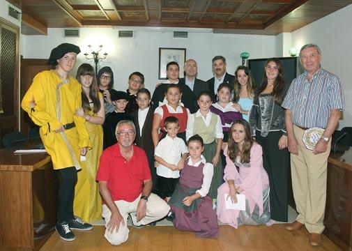 Organizadores y actores. FOTO EPDA
