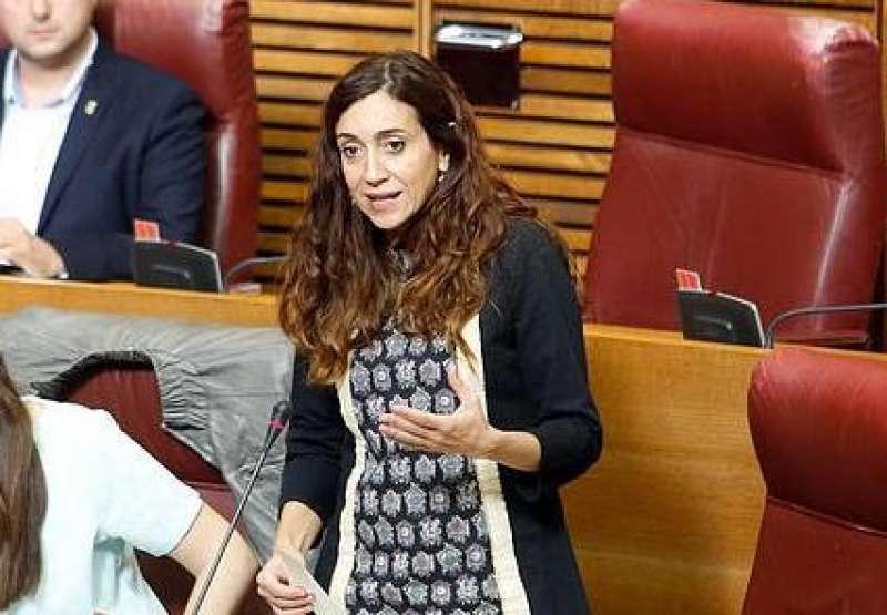 La diputada del grup parlamentari Compromís, Isaura Navarro