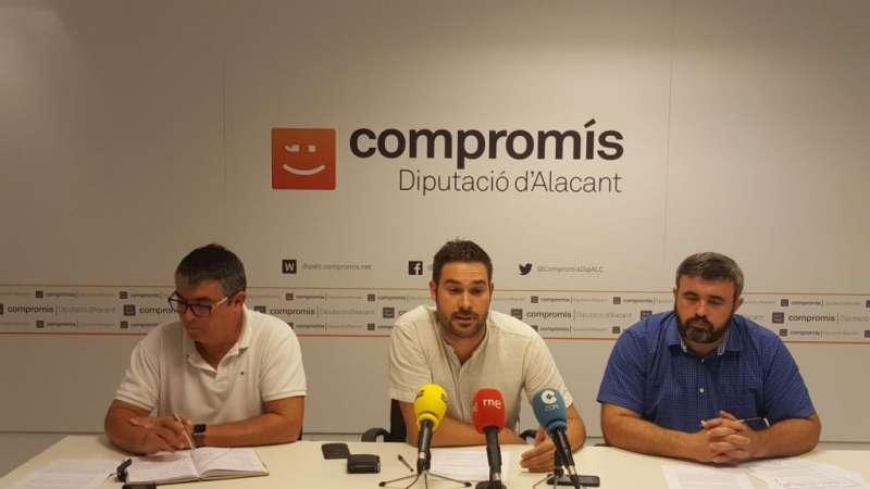 Representants de Compromís. EPDA