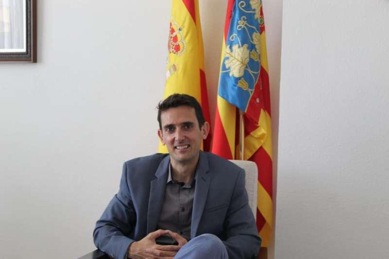 Miguel Navarré, alcalde de Casinos. EPDA