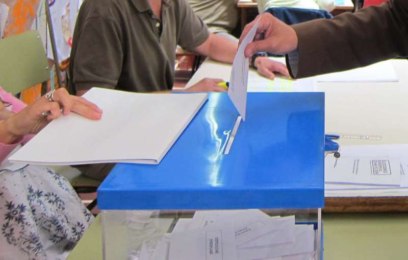 Votació en unes eleccions. EPDA