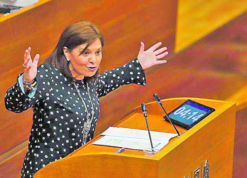 Isabel Bonig sueña con triunfar a la andaluza. / epda